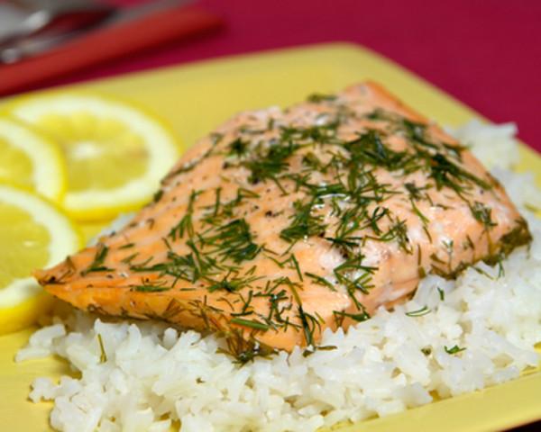 Рецепт рыбы с рисом запеченной в духовке