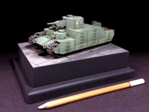 """150t Super Heavy Tank [O-I],"" FineMolds 1/72"