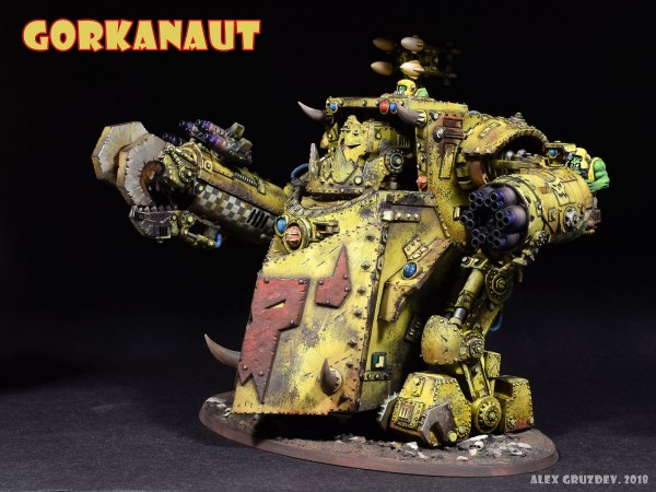 Gorkanaut, Warhammer 40k
