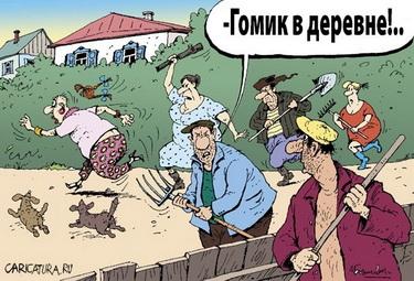 gomik_v_derevne