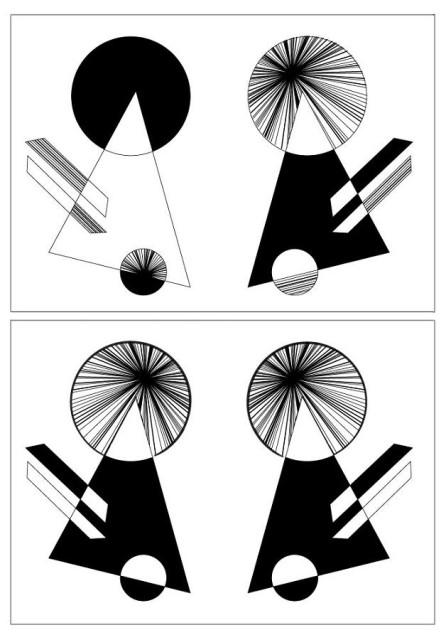 рисунок простых плоских предметов симметрия асимметрия