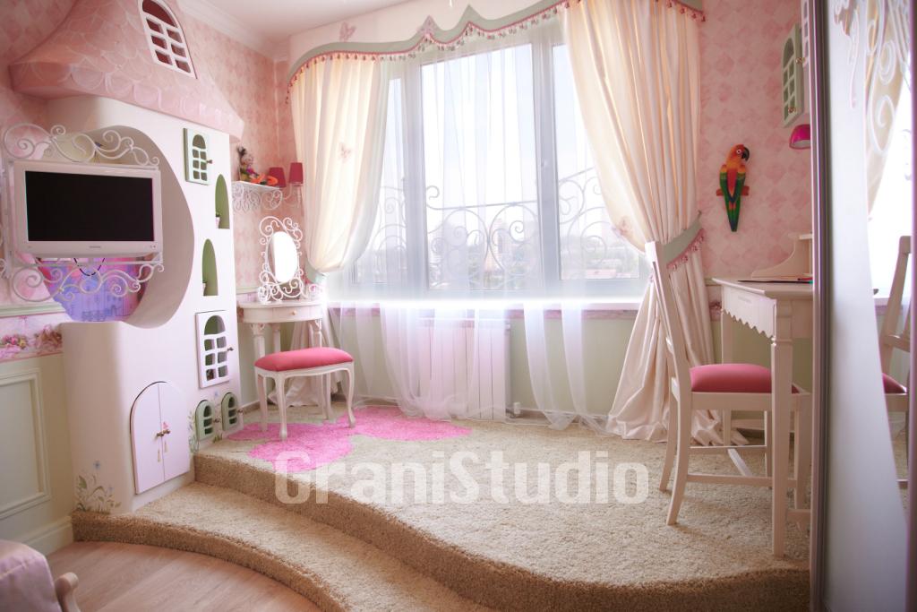 Интерьер для детской комнаты для девочек своими руками