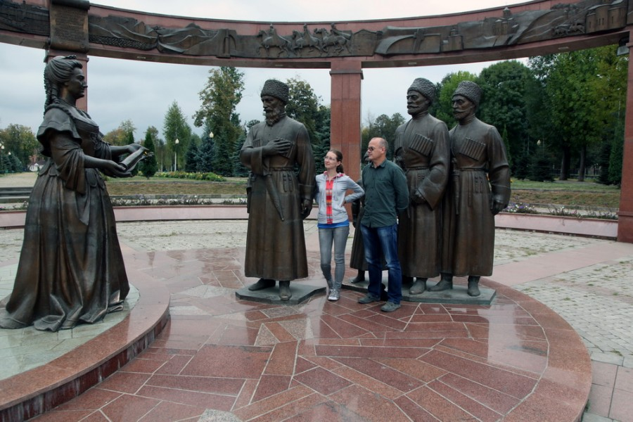 1774 г. Екатерина II принимает осетинов в состав Российской империи