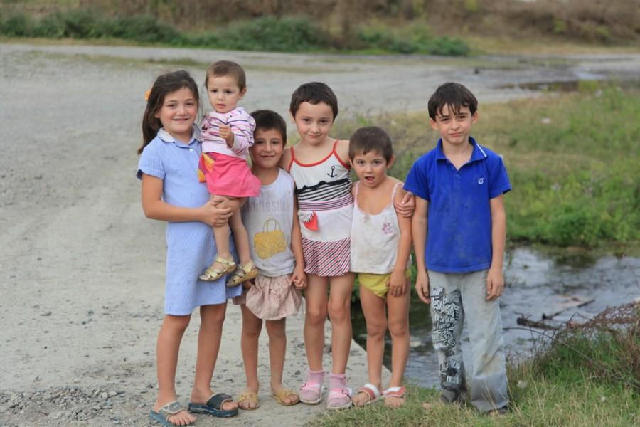 ингушские дети