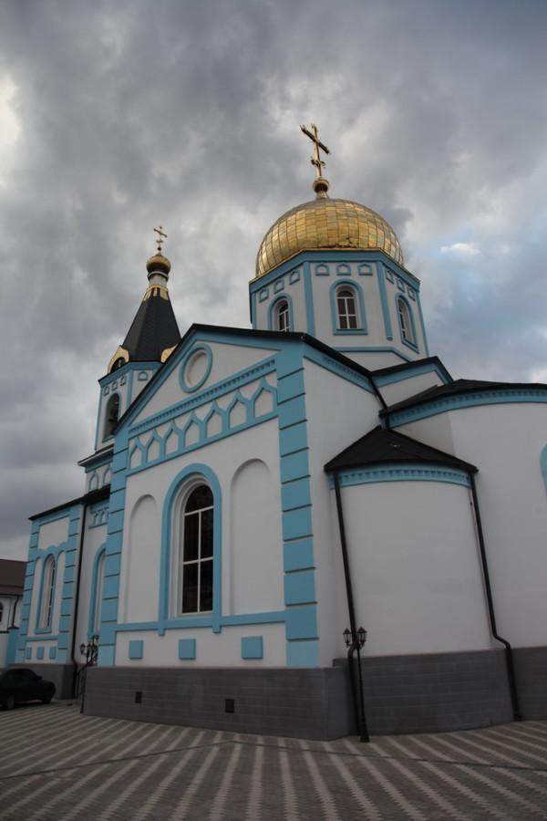 покровская церковь в станице Орджоникидзевской