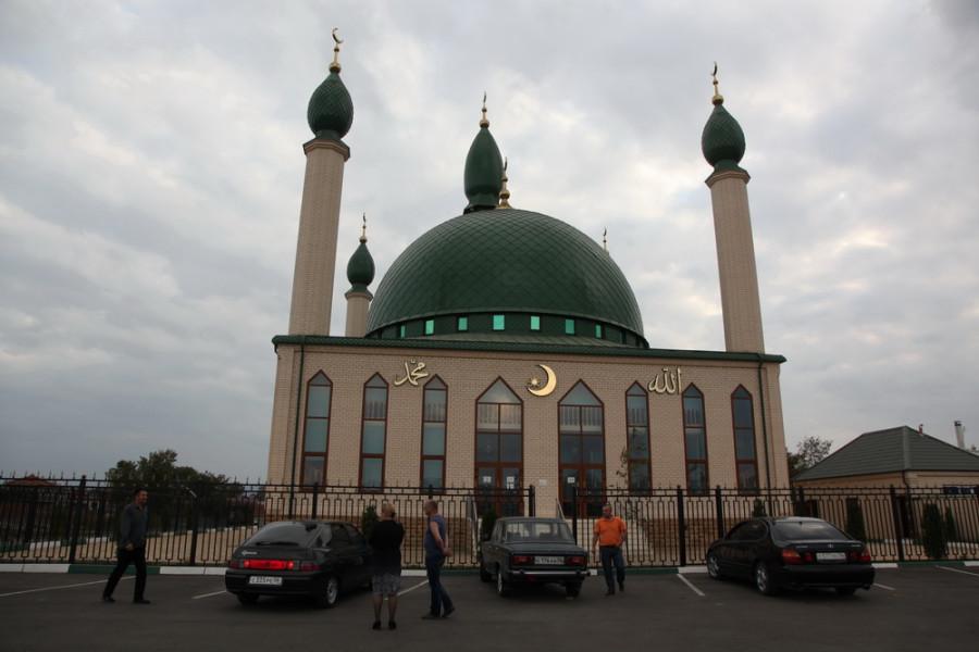 мечеть в окрестностях Назрани