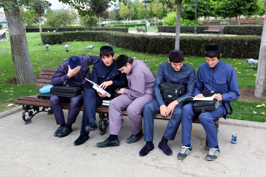чеченские студенты
