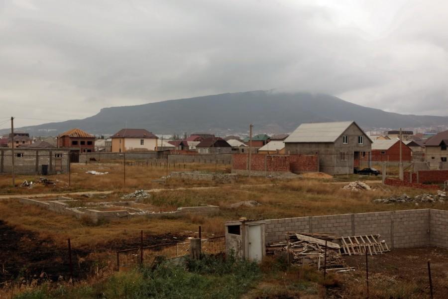 окраина Махачкалы - мкр. Семендер