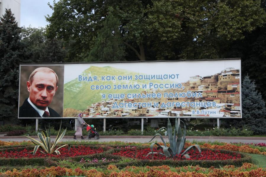 В. Путина на Кавказе любят и уважают