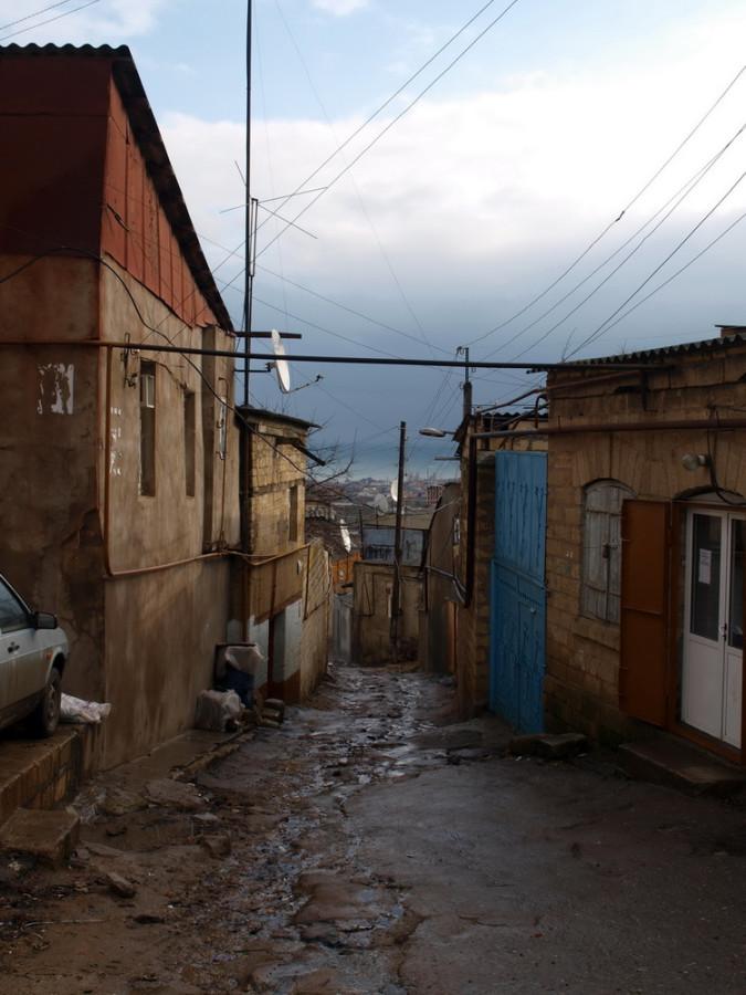 узкие улочки Дербента