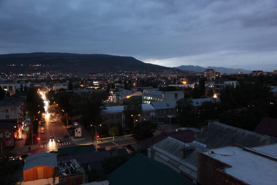 Махачкала ночью