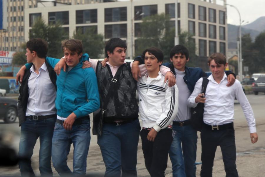 городская молодежь