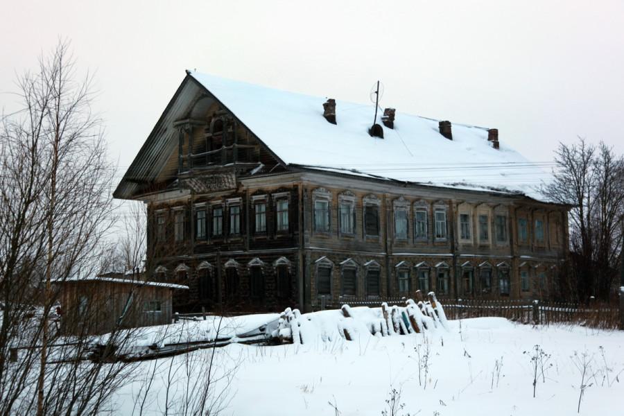 дом в с. Черевково, Красноборский район