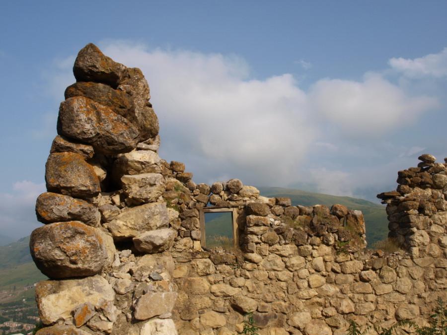 руины сторожевых башен
