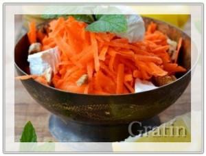 Иллюстрация-1 Морковный салат с сыром Фета