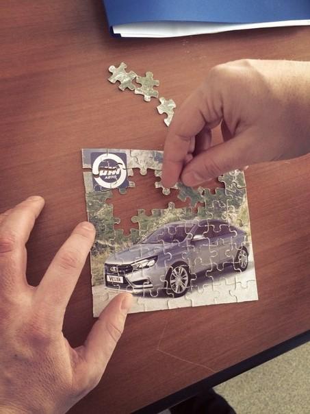 lada vesta puzzle