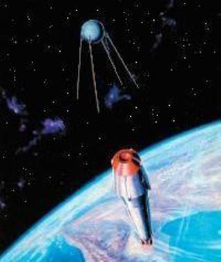 Отделение обтекателя и Спутника 3