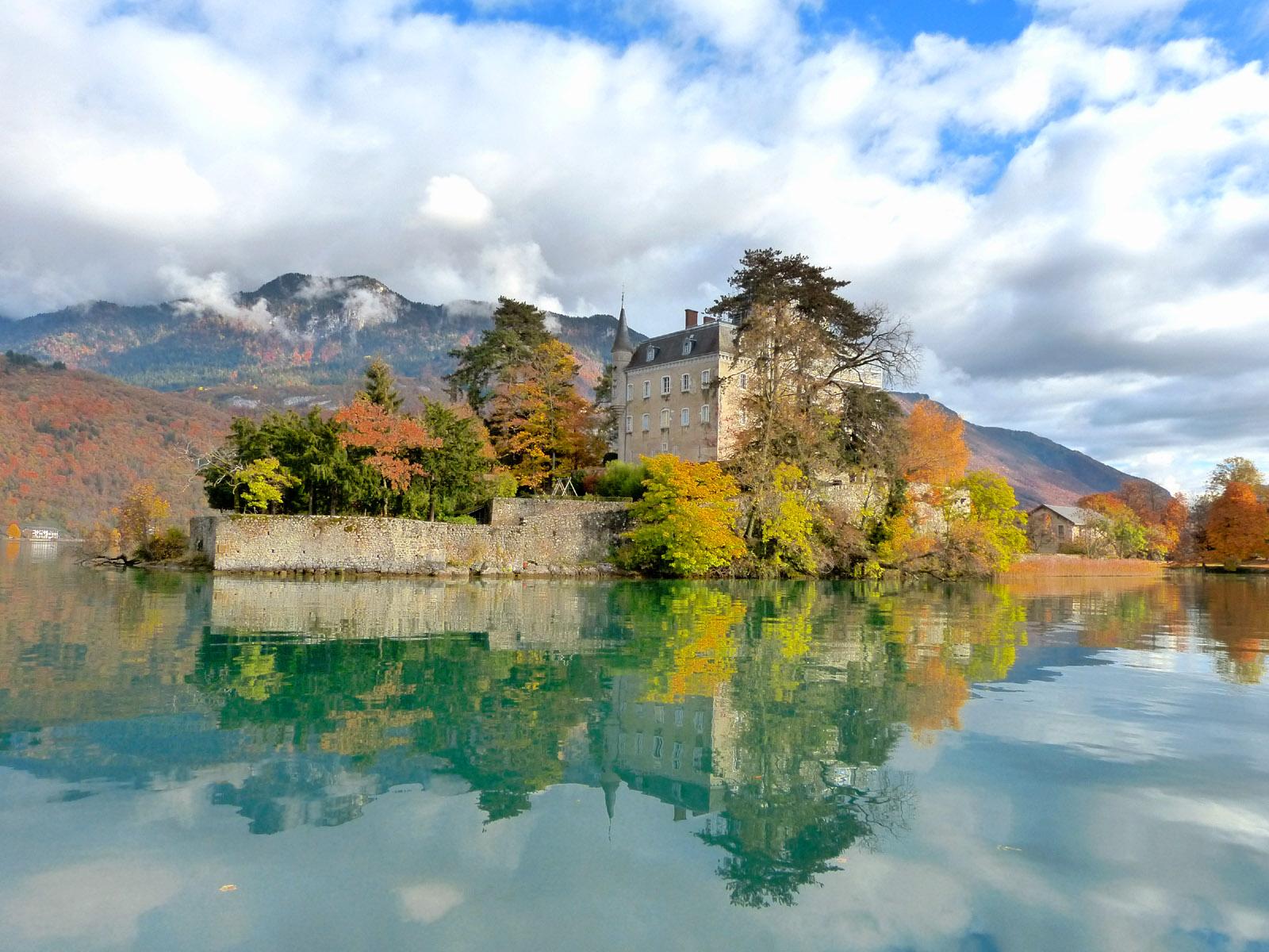 Озеро анси во франции фото