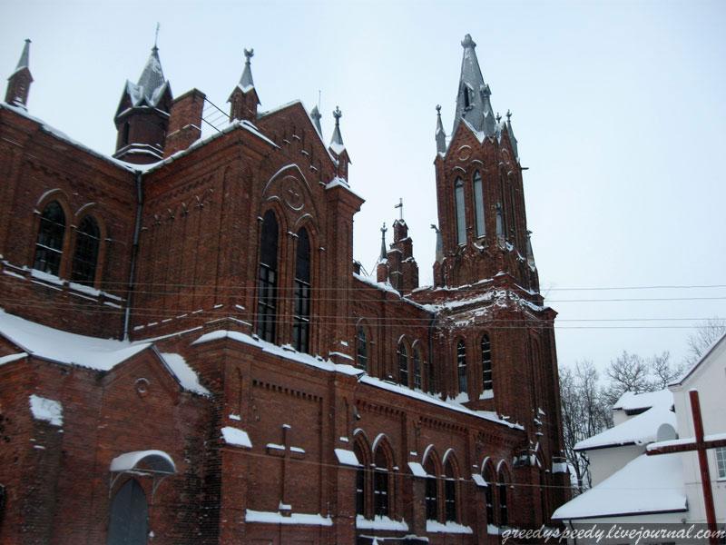 Смоленск. Храм Непорочного Зачатия Пресвятой Девы Марии.