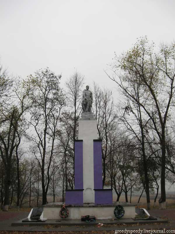 Чечерск. Гомельская область. Памятник Солдату.