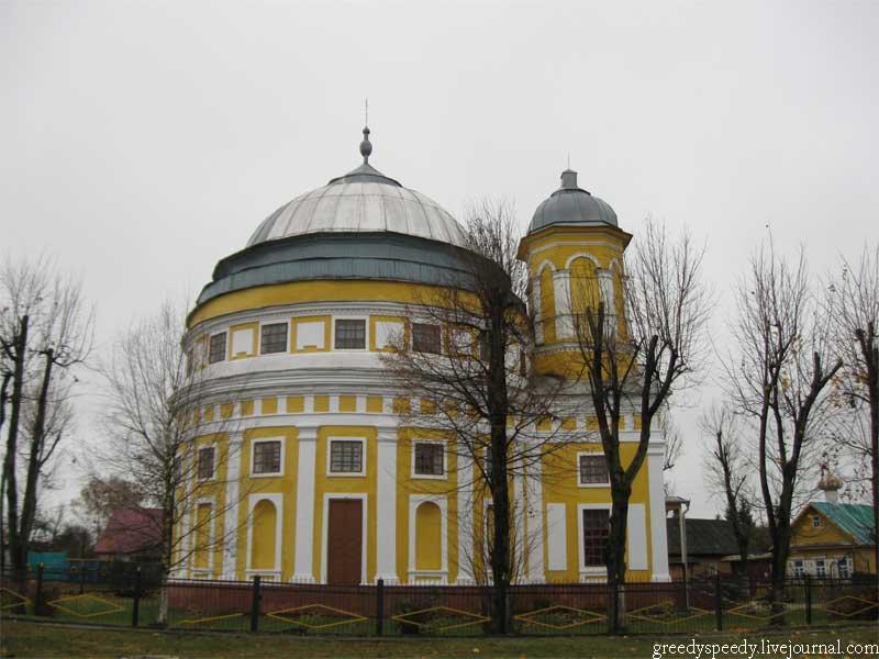Чечерск. Гомельская область. Преображенская церковь.