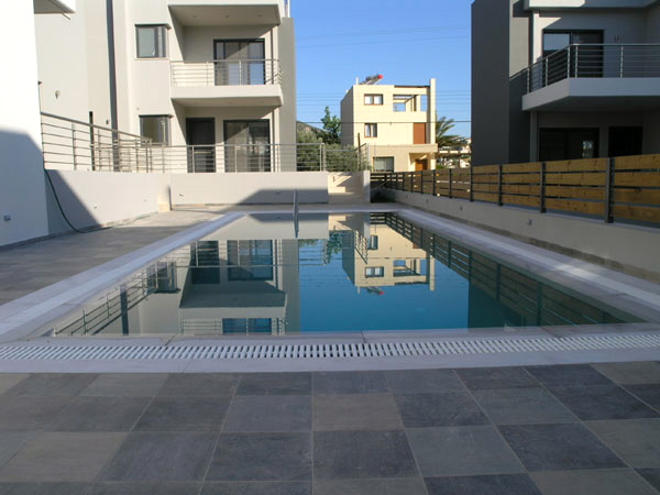 New housing in the Island of Porto Rafti