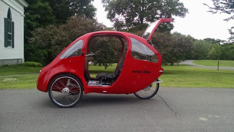 Велорикша с электродвигателем может стать идеальным городским транспортом