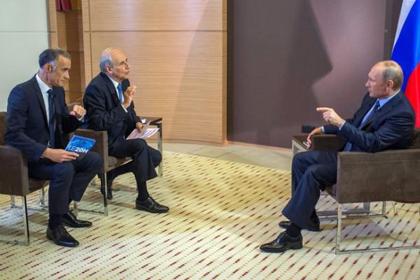 Интервью Путина иностранным СМИ