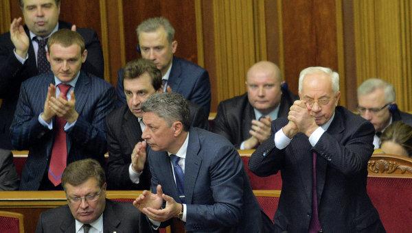 Рада не поддержала отставку правительства