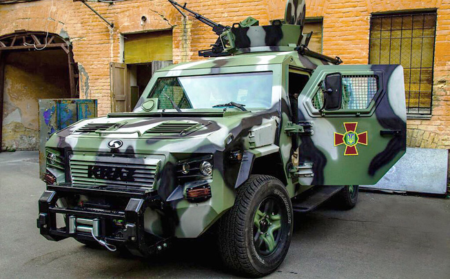 Cougar - Armored Personnel Carrier 2