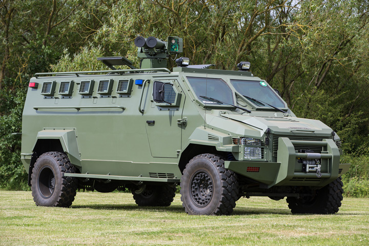 Warrior - Armored Personnel Carrier 1