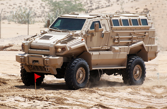 Typhoon 4x4 - Armored Personnel Carrier 1