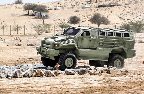 Typhoon 4x4 - Armored Personnel Carrier 8