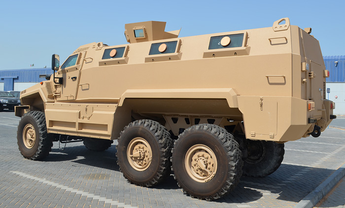 Typhoon 6x6 - Armored Personnel Carrier 6