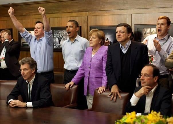 Олланд и Меркель не подали Путину руки, - Reuters - Цензор.НЕТ 3574