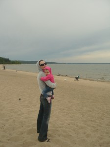Пляж Обского моря