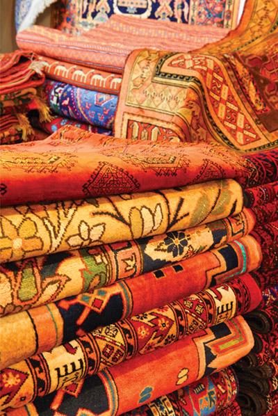Персидские ковры. Фото orientir.ae