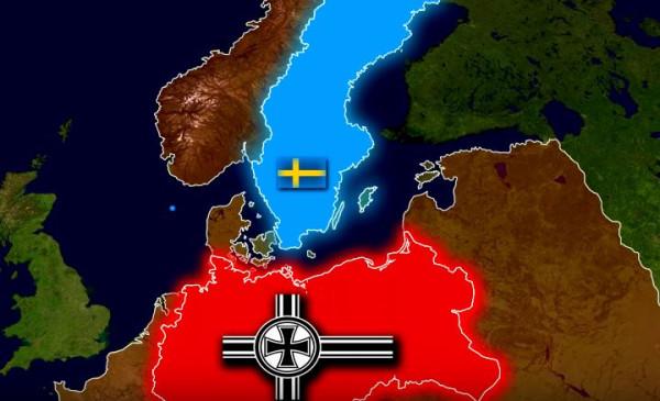 Вторая Мировая: Почему Германия не напала на Швецию, а Дания капитулировала за