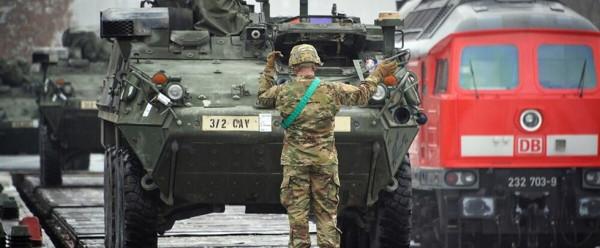 Американские солдаты остаются в Германии