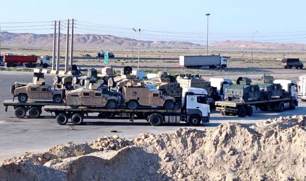 В Иран активно свозят американскую военную технику, доставшуюся талибам