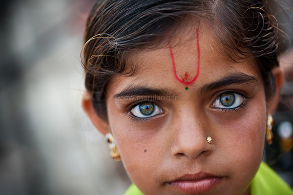 фото индианок со светлыми глазами