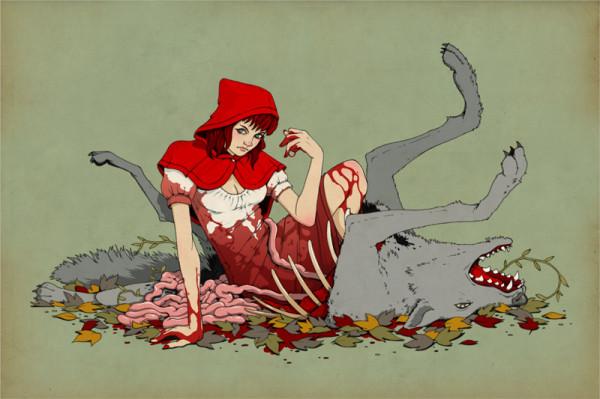 Сексуальный мультик волк и красная шапочка фото 193-701