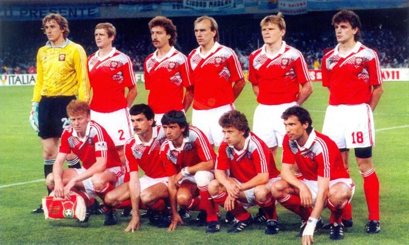 сборная СССР в матче против Аргентины