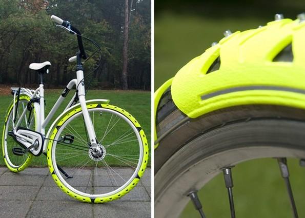 Зимняя резина для велосипеда своими руками