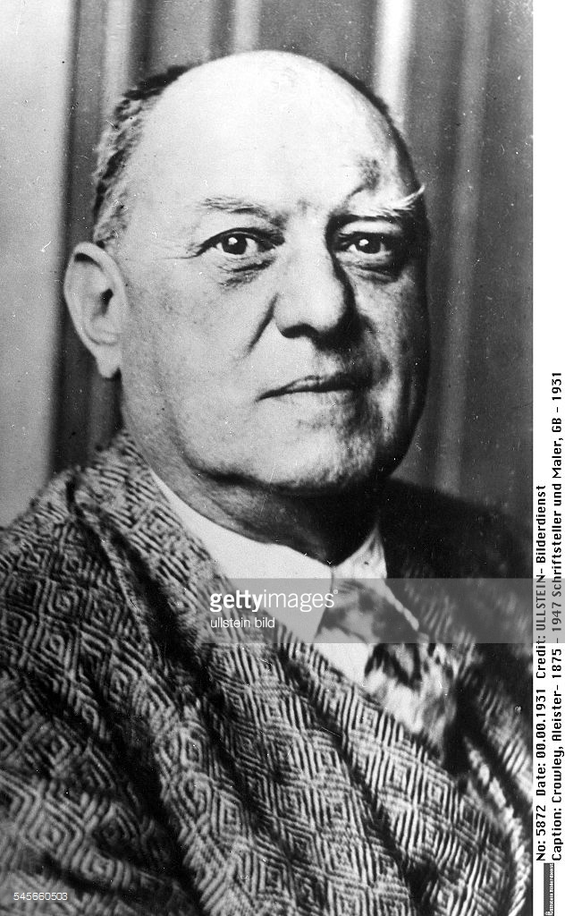 A previously unpublished photo of Aleister Crowley (1931)