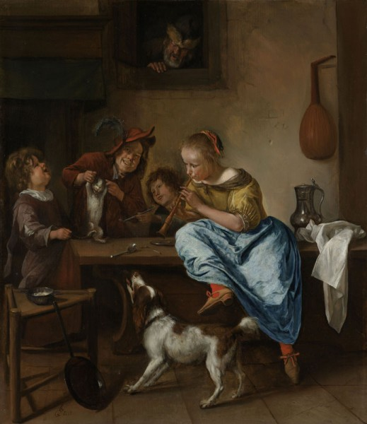 jan_steen_cat_dance