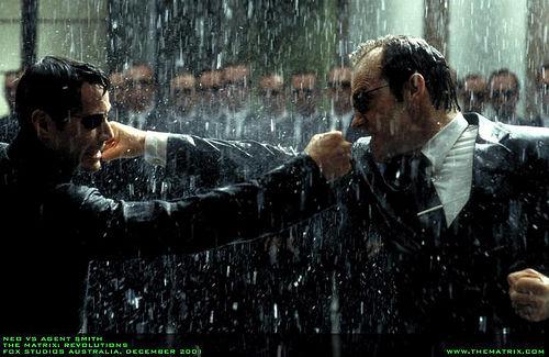 Neo Vs. Agent Smith