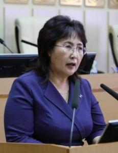 Женщина депутат
