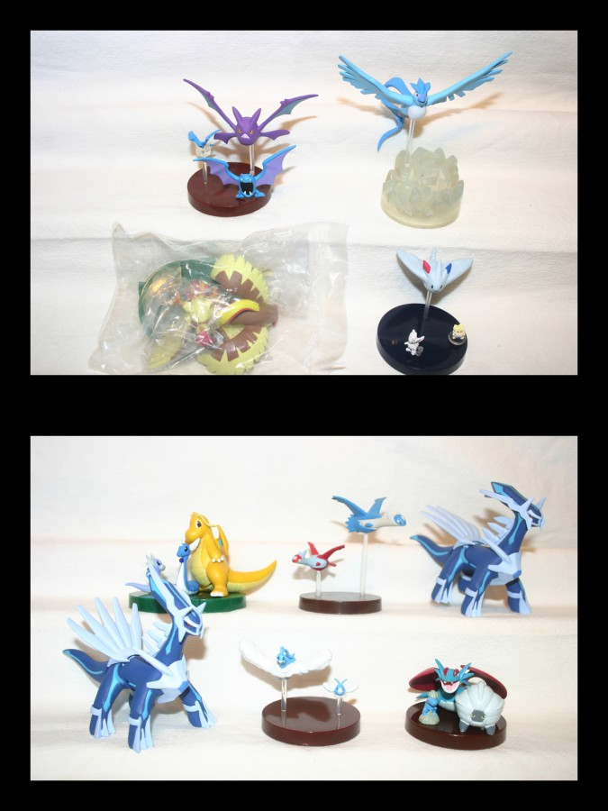 Dragon and flying sets
