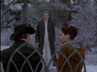 scrooge likes to watch - A Christmas Carol 1999